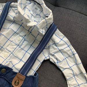 6 mos suspenders boy mix & match bundle
